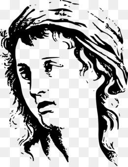 المرح مع قلم رصاص رسم الرأس واليدين الرسم صورة بابوا نيو غينيا
